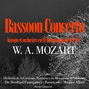 Orchestre de la Camerata Academica du Mozarteum de Salzbourg, Bernhard Paumgartner, Maurice Allard 歌手頭像