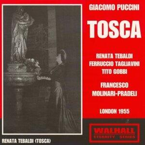 Renata Tebaldi, Ferrucio Tagliavini, Tito Gobbi, Francesco Molinari-Pradeli 歌手頭像