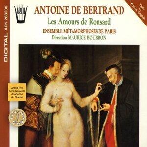 Ensemble Métamorphoses de Paris, Maurice Bourbon, Claire Gouton, Pascale Constantini, Jacques Maes, Jean-François Chiama 歌手頭像