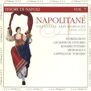 Patrizia Bovi, Giuseppe de Vittorio, Rosario Totaro, Micrologus, Cappela de Turchini 歌手頭像