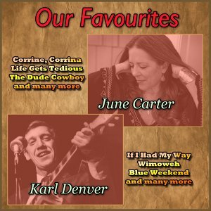 June Carter, Karl Denver 歌手頭像