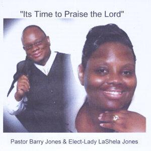 Pastor Barry Jones Sr, Elect-Lady Lashela Jones 歌手頭像