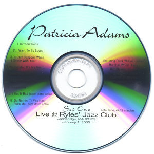 Patricia Adams [vocals], Frank Wilkins [piano], Marshall Wood [b 歌手頭像