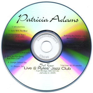 Patricia Adams [vocals], Ray Santisi [piano], Mars 歌手頭像