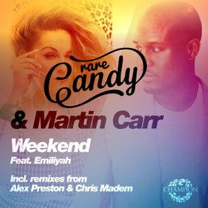 Rare Candy, Martin Carr 歌手頭像