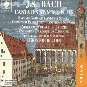 Christoph Pregardien, Barbara Schlick, Andreas Scholl, Christophe Coin, Ensemble Baroque de Limoges 歌手頭像