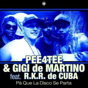 Pee4Tee, Gigi de Martino 歌手頭像