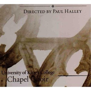 Paul Halley, University of King's College Chapel Choir 歌手頭像