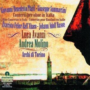 Luca Avanzi, Archi di Torino, Andrea Molino 歌手頭像