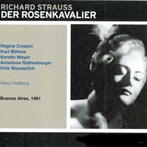 Orchestra of the Teatro Colón, Heinz Wallberg, Régine Crespin, Kurt Böhme, Kerstin Meyer, Anneliese Rothenberger, Fritz Wunderlich 歌手頭像