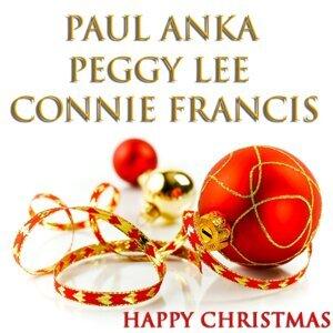 Paul Anka, Peggy Lee, Connie Francis 歌手頭像