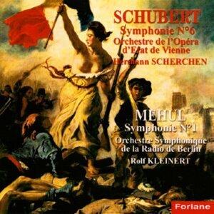 Orchestre de l'Opéra d'Etat de Vienne, Hermann Scherchen, Orchestre symphonique de la radio de Berlin, Rolf Kleinert 歌手頭像