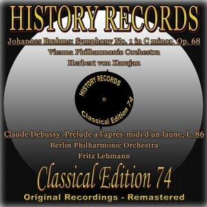Herbert von Karajan, Fritz Lehmann, Vienna Philharmonic Orchestra, Berlin Philharmonic Orchestra 歌手頭像