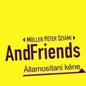 Müller Péter Sziámi AndFriends 歌手頭像