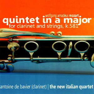 The New Italian Quartet with Antoine De Bavier (Clarinet) 歌手頭像