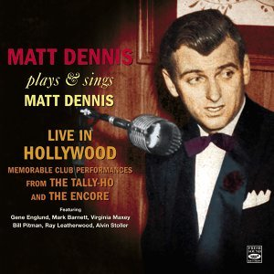 Matt Dennis 歌手頭像