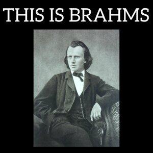 Johannes Brahms, Brahms Artist photo