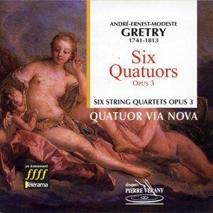 Quatuor Via Nova, Jean Mouillière, Jean-Pierre Sabouret, Liviu Stanese, Jean-Marie Gamard Artist photo