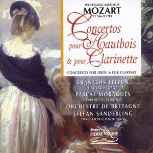 Orchestre de Bretagne, Stefan Sanderling, François Leleux, Pascal Moraguès Artist photo