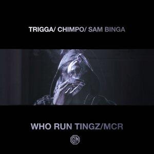 Trigga, Chimpo, Sam Binga Artist photo