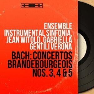 Ensemble Instrumental Sinfonia, Jean Witold, Gabriella Gentili Verona Artist photo