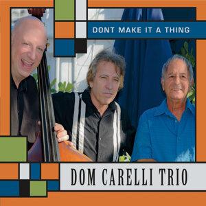 Dom Carelli Trio Artist photo