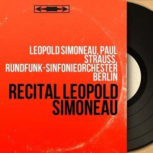 Léopold Simoneau, Paul Strauss, Rundfunk-Sinfonieorchester Berlin Artist photo
