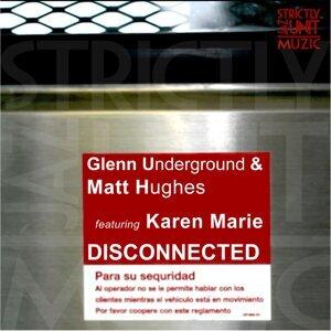 Glenn Underground, Matt Hughes SJU Artist photo