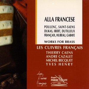 Les Cuivres Français, Thierry Caens, André Cazalet, Michel Becquet, Yves Henry Artist photo