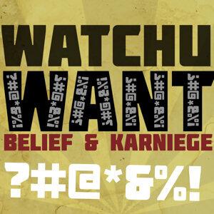 Belief, Karniege Artist photo