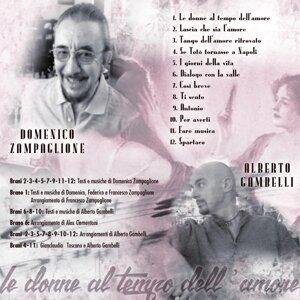 Domenico Zampaglione, Alberto Gambelli Artist photo
