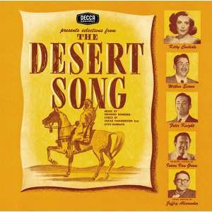 The Desert Song/ New Moon アーティスト写真
