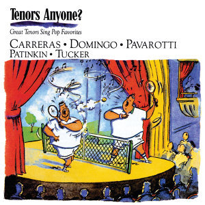 Plácido Domingo, José Carreras, Mandy Patinkin, Luciano Pavarotti, Richard Tucker 歌手頭像