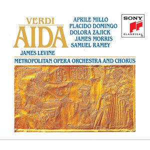 Aprile Millo, Plácido Domingo, Dolora Zajick, Samuel Ramey, James Morris, Metropolitan Opera Orchestra, James Levine 歌手頭像