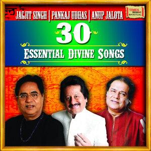Jagjit Singh, Pankaj Udhas, Anup Jalota 歌手頭像