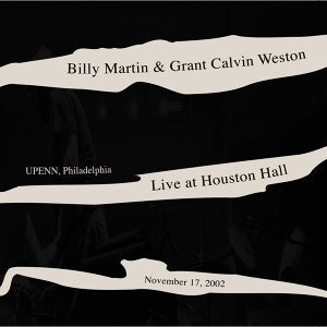 Billy Martin & Grant Calvin Weston 歌手頭像