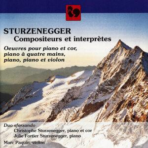 Christophe Sturzenegger, Julie Fortier Sturzenegger & Marc Paquin 歌手頭像