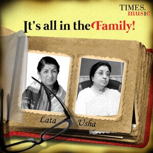 Lata Mangeshkar, Usha Mangeshkar 歌手頭像
