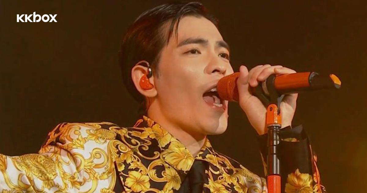 【第14屆KKBOX風雲榜】蕭敬騰霸氣開場!不羨慕包廂食龍蝦:我永遠要站在這裡