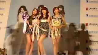 Dream Girls感謝記者會影音花絮之6送上皇冠與天使權杖加冕儀式