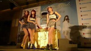 Dream Girls感謝記者會影音花絮之7泰山窈窕美茶冰雕冠軍盃慶功