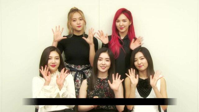 Red Velvet 訪問