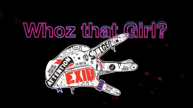 WHOZ THAT GIRL