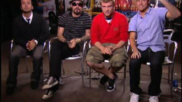 Backstreet Boys 問候台灣歌迷