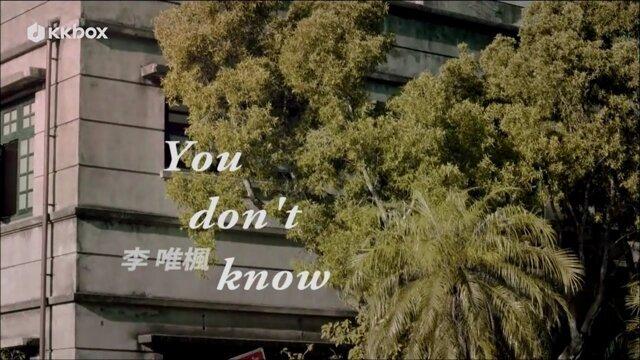 You don't know - 三立華劇<剩女保鏢>片尾曲