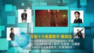 第八屆數位音樂風雲榜-十大風雲歌手-陳奕迅