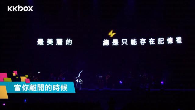 当你离开的时候_蔡健雅美丽突然发生巡回演唱会