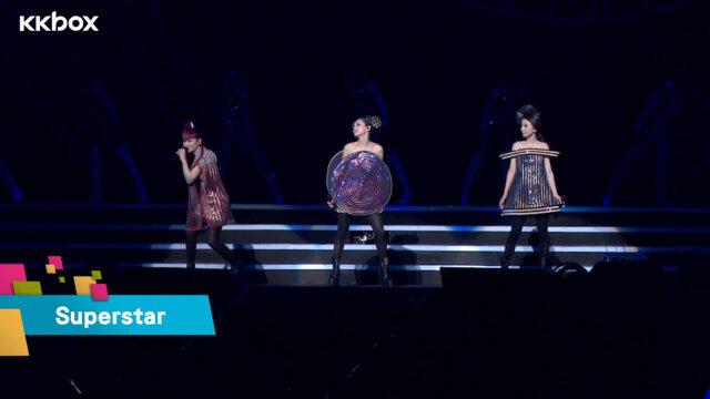 Superstar+迫不及待+星光_S.H.E 2GETHER 4EVER演唱會安可場