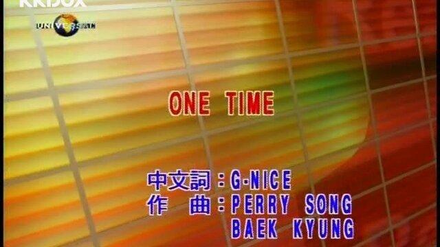 ONE TIME - Album Version(Karaoke)