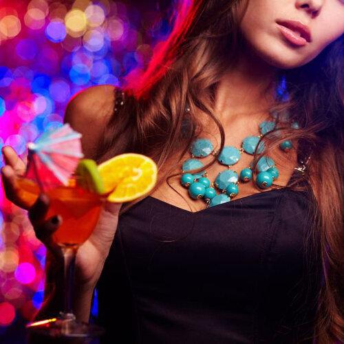Cocktail party belongs to ladies